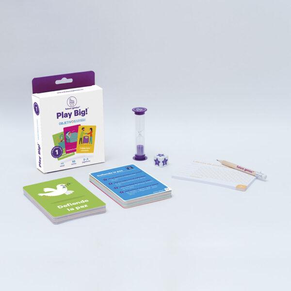 Juego de cartas infantil - ODS - ivertete jugando con tus hijos